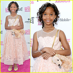 Quvenzhane Wallis - Independent Spirit Awards 2013