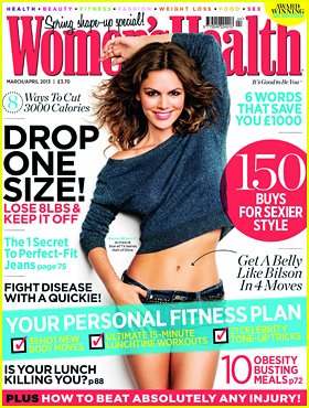 Rachel Bilson Covers 'Women's Health UK' March 2013