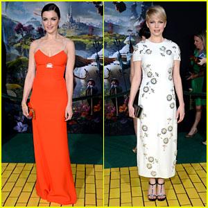Rachel Weisz & Michelle Williams: 'Oz The Great & Powerful' Premiere!