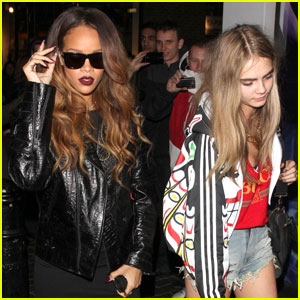 Rihanna & Cara Delevingne: The Box Nightclub Party!