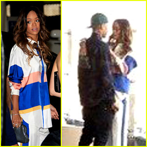 Rihanna & Chris Brown: Roc Nation Pre-Grammys Brunch!