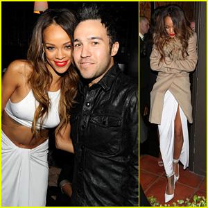 Rihanna: Island Def Jam 2013 Grammy After Party!