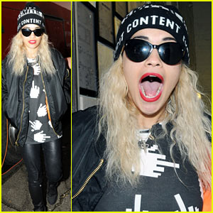 Rita Ora: 'Let's Have Fun Glasgow!'