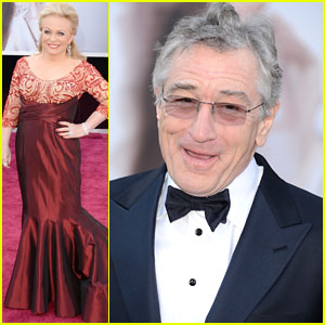 Robert DeNiro & Jacki Weaver - Oscars 2013 Red Carpet