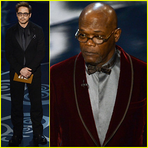 Robert Downey Jr. - Oscars 2013 with 'The Avengers'!