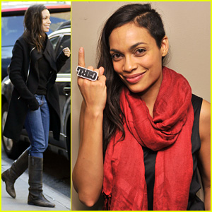 Rosario Dawson: V-Day's One Billion Rising Supporter!