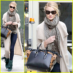 Rosie Huntington-Whiteley: L.A. & London Style Are Different!