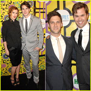 Rumer Willis & 'New Normal' Cast: Family Equality Event!