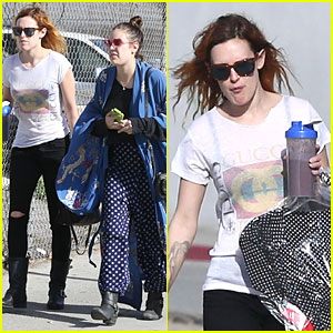 Rumer Willis: Super Bowl Birthday Celebration with Tallulah!