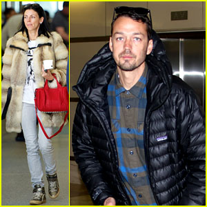 Rupert Sanders & Liberty Ross: Separate LAX Sightings!