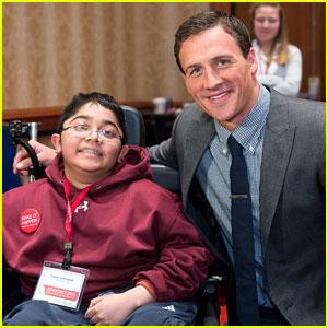 Ryan Lochte: Muscular Dystrophy Research Supporter!