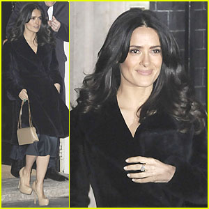 Salma Hayek: Independent Spirit Awards Presenter!