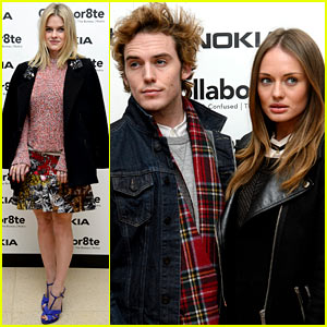Sam Claflin & Alice Eve: Rankin's Collabor8te Premiere!