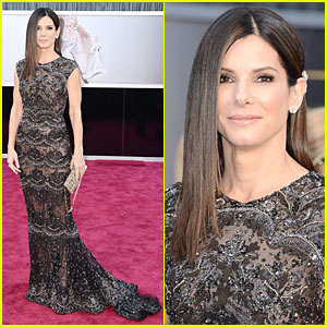 Sandra Bullock - Oscars 2013 Red Carpet