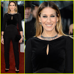 Sarah Jessica Parker - BAFTAs 2013 Red Carpet