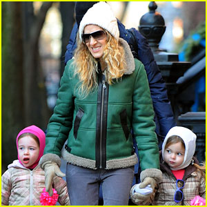 Sarah Jessica Parker: Bundled Up in the Big Apple
