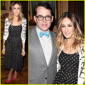 Sarah Jessica Parker & Matthew Broderick: Love 'N' Courage Benefit!