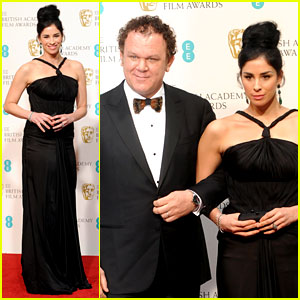 Sarah Silverman & John C. Reilly - BAFTAs 2013 Red Carpet