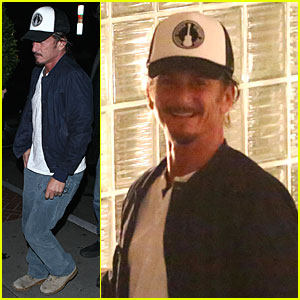 Sean Penn: Pre-Grammy Party in West Hollywood!