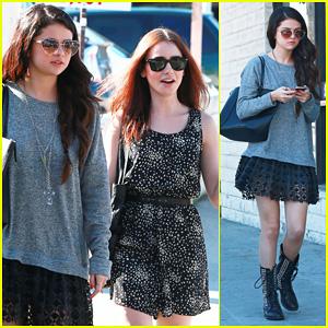 Selena Gomez & Lily Collins: Sushi Dan Lunch!