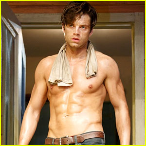 Shirtless Sebastian Stan: 'Picnic' on Broadway Ends Today!
