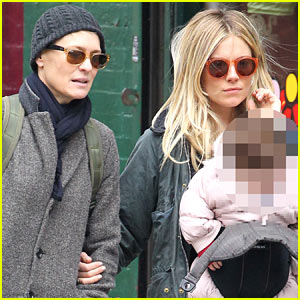 Sienna Miller: West Village Shopping with Robin Wright!