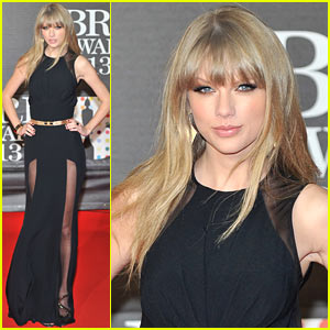Taylor Swift - BRIT Awards 2013 Red Carpet
