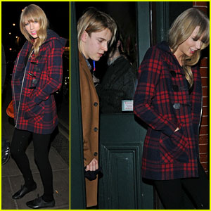 Taylor Swift & Tom Odell: London Night Out!
