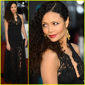 Thandie Newton - BAFTAs 2013 Red Carpet
