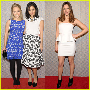 Vanessa Hudgens & Katharine McPhee: Alice + Olivia Fashion Show!