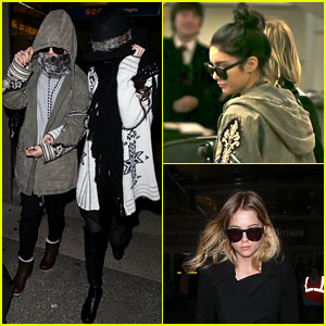 Vanessa Hudgens & Selena Gomez: Back in Los Angeles!