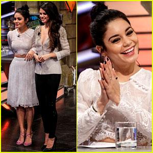 Vanessa Hudgens & Selena Gomez: 'El Hormiguero' Visit!