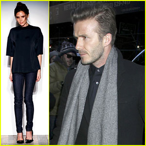 Victoria Beckham: New York Fashion Week Runway Show!