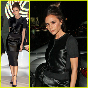 Victoria Beckham: Woolmark Prize Grand Final in London!