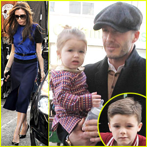 Victoria & David Beckham: Cruz's Birthday Celebration with the Family!