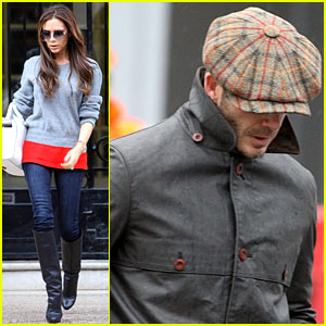 Victoria & David Beckham: Separate Outings After PSG Announcement!
