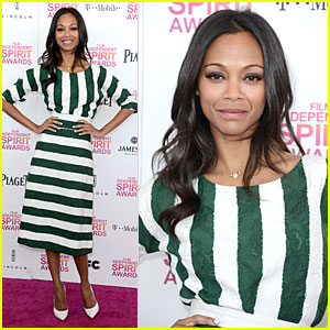 Zoe Saldana - Independent Spirit Awards 2013