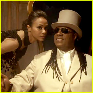 Zoe saldana stevie wonder bud light super bowl commercial 2013 zoe saldana stevie wonder bud light super bowl commercial 2013 video aloadofball Choice Image