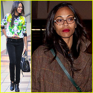 Zoe Saldana: Thanks for the Super Bowl Commercial Love!