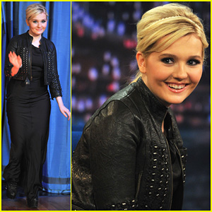 Abigail Breslin: 'Late Night with Jimmy Fallon' Appearance!