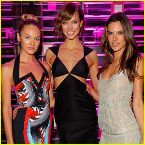 Victoria's Secret Party & Exclusive Video Interviews!