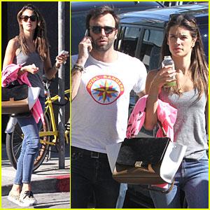 Alessandra Ambrosio & Jamie Mazur: Gjelina Lunch Couple!