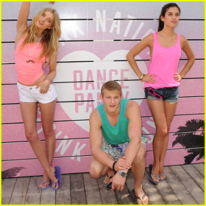 Alexander Ludwig: Victoria's Secret Spring Break Dance Party!