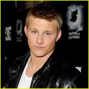 Alexander Ludwig: Victoria's Secret Spring Break Party Host (Exclusive)!