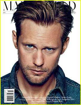Alexander Skarsgard Covers 'Man of the World' Issue 3!