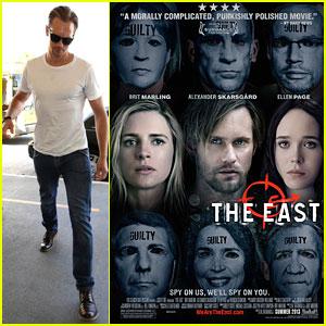 Alexander Skarsgard: 'The East' Poster!