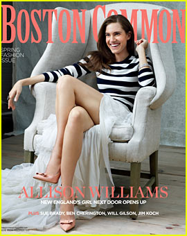 Allison Williams Covers 'Boston Common' Magazine