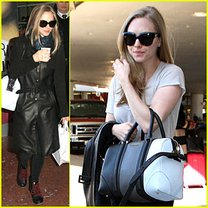 Amanda Seyfried: Paris Makes Us Tired!