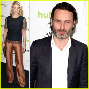 Andrew Lincoln & Laurie Holden: 'Walking Dead' at PaleyFest ...