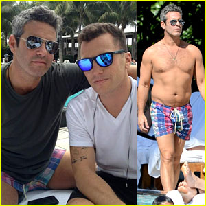 Andy Cohen: Shirtless Anniversary with Sean Avery!